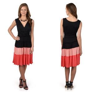 Sangria Sleeveless Knit  Summer Dress